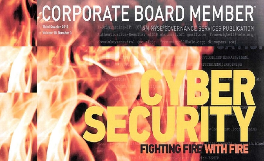 Corporate Board Member / Why Today's Boards need to be Tech Savvy (and Why It Still Isn't Enough)