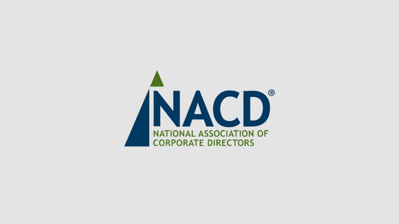 NACD Director's Monthly / Pay for Long Term