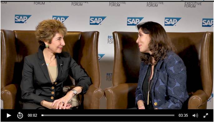 VIDEO: A Conversation with Betsy Atkins, CEO, Baja Corp, and Lori Mitchell-Keller, Global General Business Manager, SAP Consumer Industries