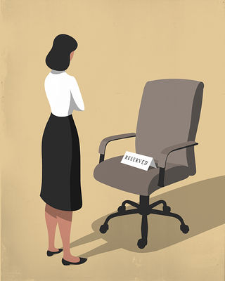 The Wall Street Journal / To Shatter the Glass Ceiling, Don't Force It