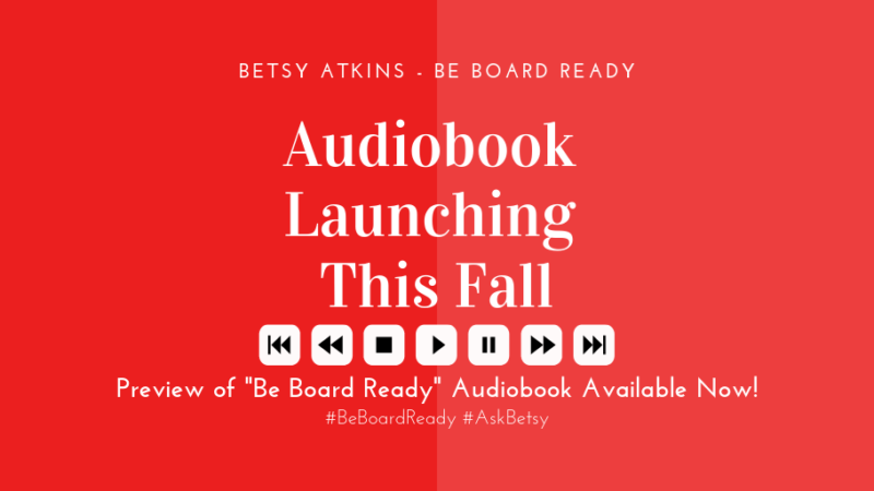 Be Board Ready / Audiobook Preview