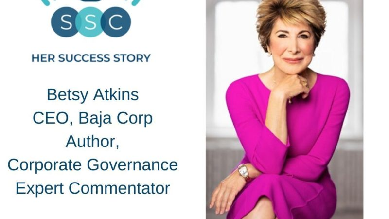 Her Success Story Podcast / Betsy Atkins Interviewed By Ivy Slater