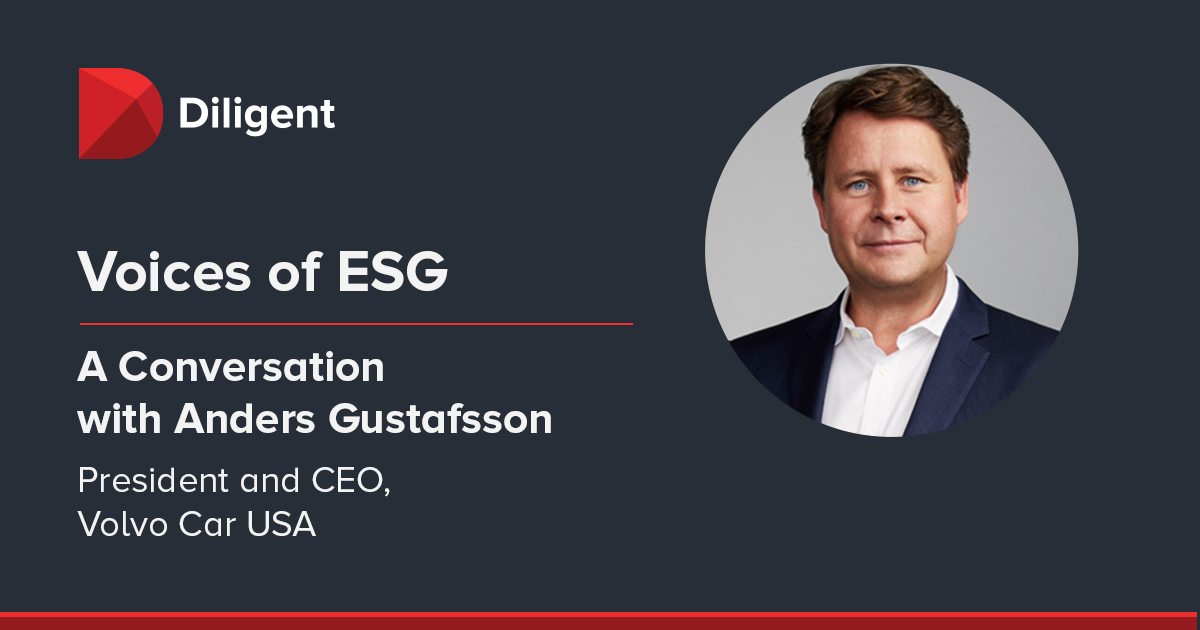 Voices of ESG: How Volvo Aligns ESG Goals with Company Strategy