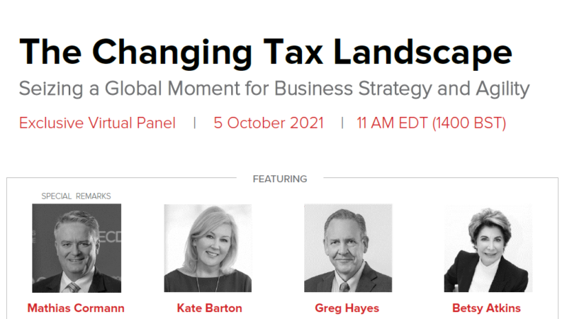 A Virtual Event: The Changing Tax Landscape